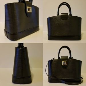 Louis Vuitton Bags - Louis Vuitton Mirabeau PM Epi Black with Strap